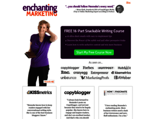 enchantingmarketing.com screenshot