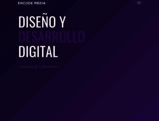 encodemedia.com.mx screenshot