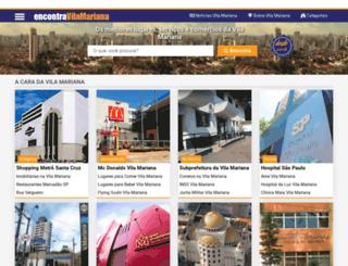 encontravilamariana.com.br screenshot