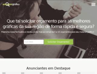 encontregrafica.com.br screenshot