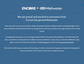 encorealert.com screenshot