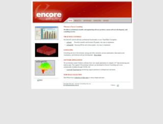 encoreconsulting.com.au screenshot