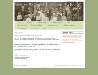 encounterbayfhg.org.au screenshot