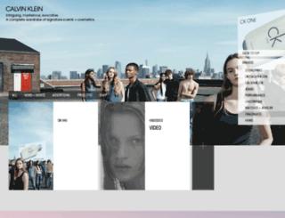 encountercalvinklein.com screenshot