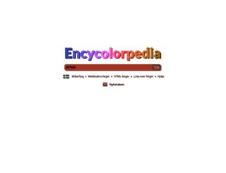 encycolorpedia.se screenshot