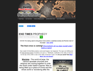 end-times-prophecy.org screenshot