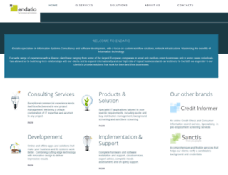 endatio.com screenshot