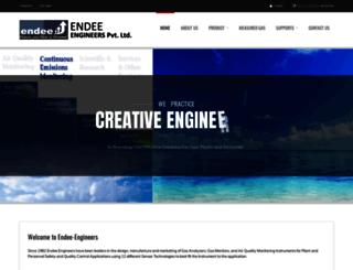 endee-engineers.com screenshot