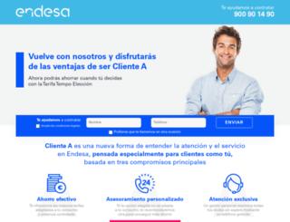 endesatempo.com screenshot