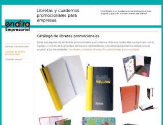 endiraempresarial.wordpress.com screenshot