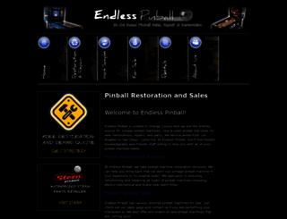 endlesspinball.com screenshot