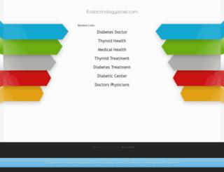 endocrinologyisrael.com screenshot