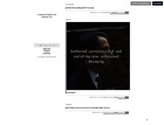 endofadream.tumblr.com screenshot