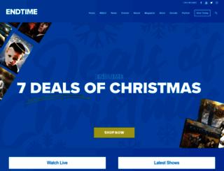 endtime.com screenshot