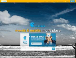 enduhub.com screenshot