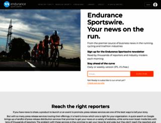 endurancesportswire.com screenshot