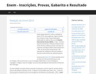 enem2015.net.br screenshot