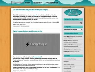 energethique.be screenshot