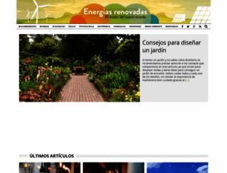 energiasrenovadas.com screenshot