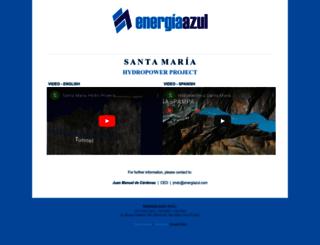 energiazul.com screenshot