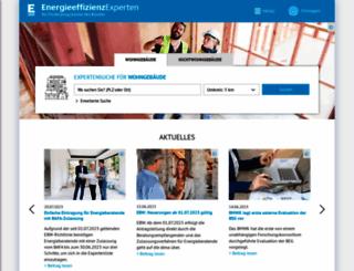 energie-effizienz-experten.de screenshot