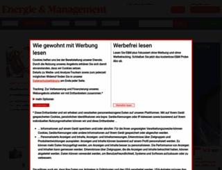 energie-und-management.de screenshot