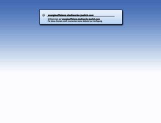 energieeffizienz.stadtwerke-juelich.com screenshot