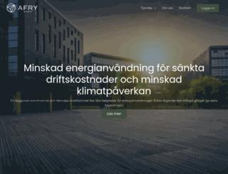 energieffektivisering.se screenshot