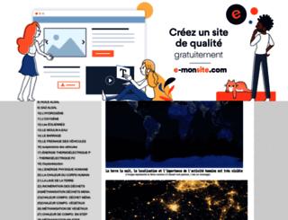 energiein.e-monsite.com screenshot