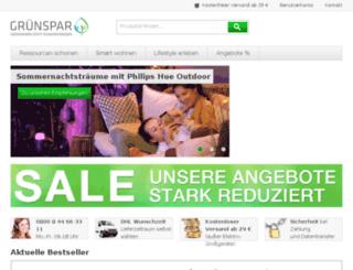 energiespar-shop.pfalzwerke.de screenshot
