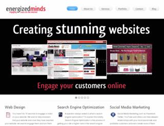energized-minds.com screenshot