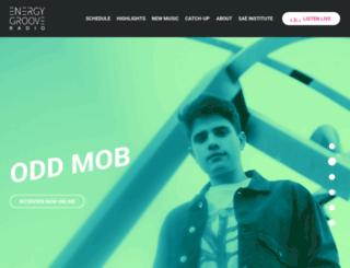 energy-groove.com screenshot