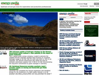 energy-pedia.com screenshot