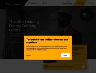 energy-trust.co.uk screenshot