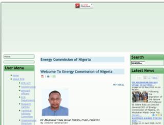 energy.gov.ng screenshot