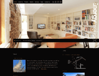 energyarchitecture.com.au screenshot