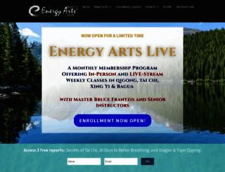 energyarts.com screenshot