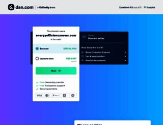 energyefficiencynews.com screenshot