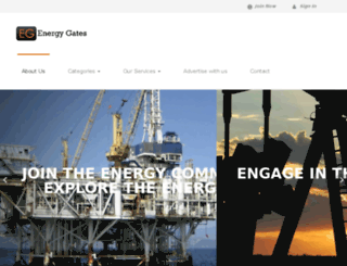 energygates.com screenshot