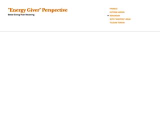energygiver.wordpress.com screenshot