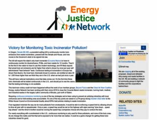 energyjustice.net screenshot