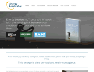 energyleadership.com screenshot