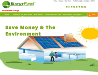 energypanel.ie screenshot