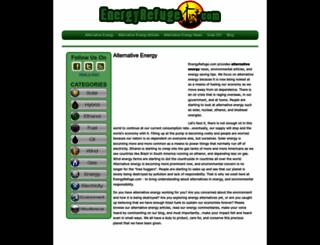 energyrefuge.com screenshot