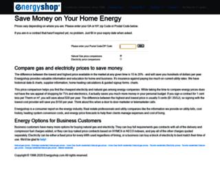 energyshop.com screenshot