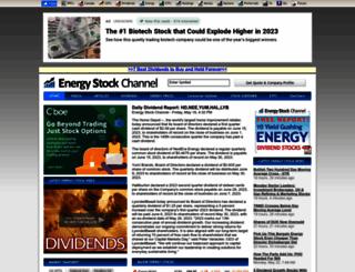 energystockchannel.com screenshot