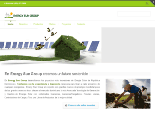 energysungroup.com screenshot