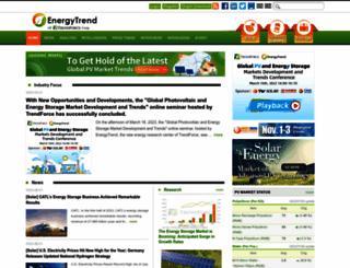 energytrend.com screenshot