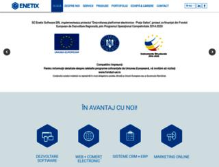 enetix.ro screenshot