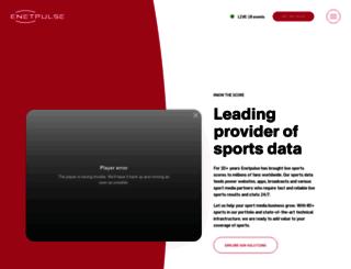 enetpulse.com screenshot